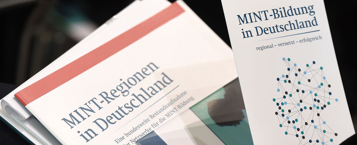 MINT-Initiativen - Vier Engagements, ein Ziel